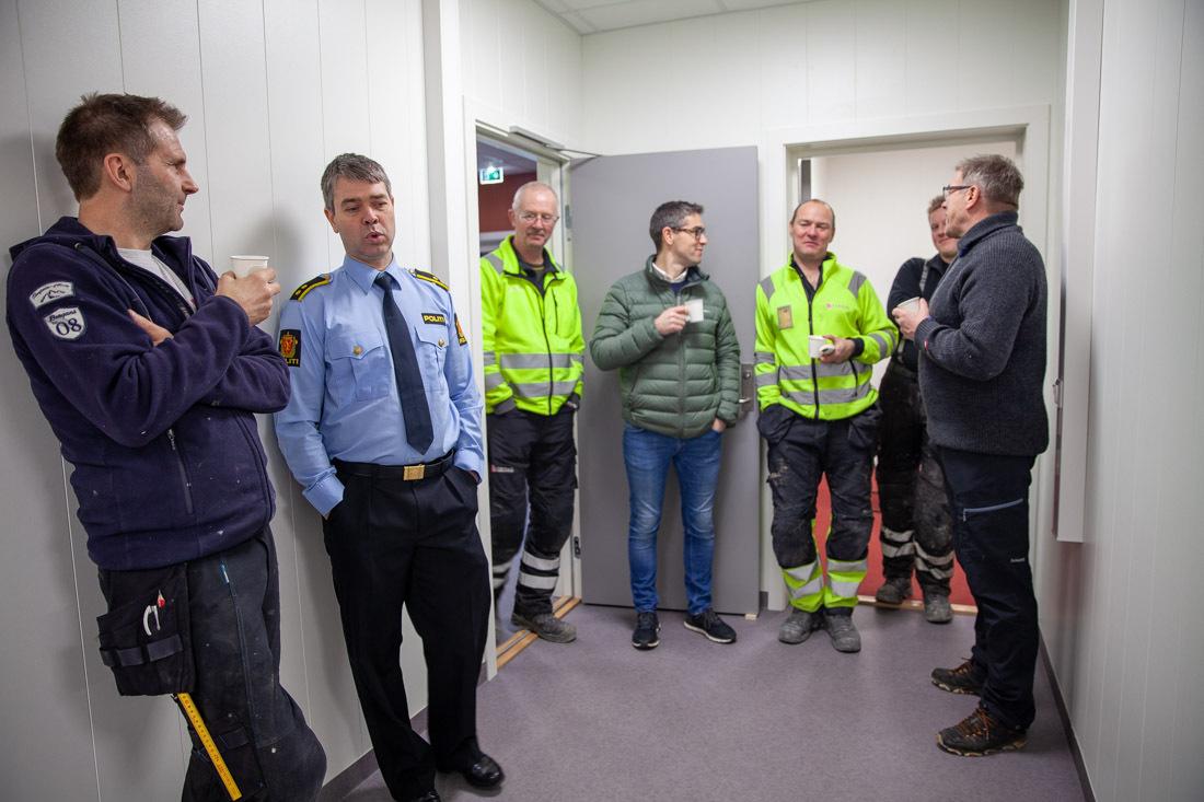 Åpning av Risør og Gjerstad lensmannskontor